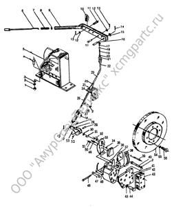 Z50B.11 ручной тормоз