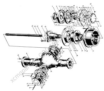 Z30.8E ЗАДНИЙ МОСТ (REAR AXLE) (ZLM30-5)