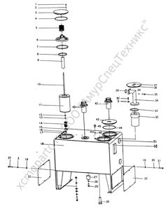 Z30.14M.5 МАСЛЯНЫЙ БАК (OIL TANK) (ZLM30-5)