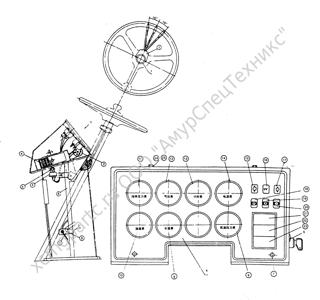 Z30.18M ЭЛЕКТРОСХЕМА ВОДИТЕЛЬСКОГО САЛОНА (ПАНЕЛЬ ПЛАСТМАССОВОГО ПРИБОРА) (ELECTRICAL ASSEMBLY DIAGRAM (PLASTIC INSTRUMENT BOARD)) (ZLM30-5)