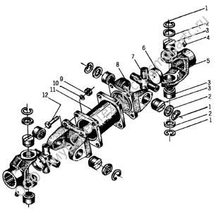 Z50B.3  Ведущая трансмиссионная ось