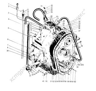 Z30.4M КОМПЛЕКТ КОРОБКИ ПЕРЕДАЧ СКОРОСТЕЙ (TRANSMISSION ASS`Y) (ZLM30-5)