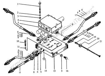 Z50E.4F.1 клапана переключение скоростей